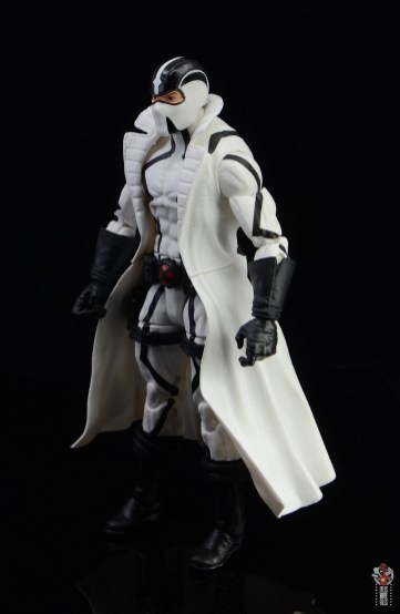 marvel legends nimrod, fantomex and psylocke figure review -fantomex left side