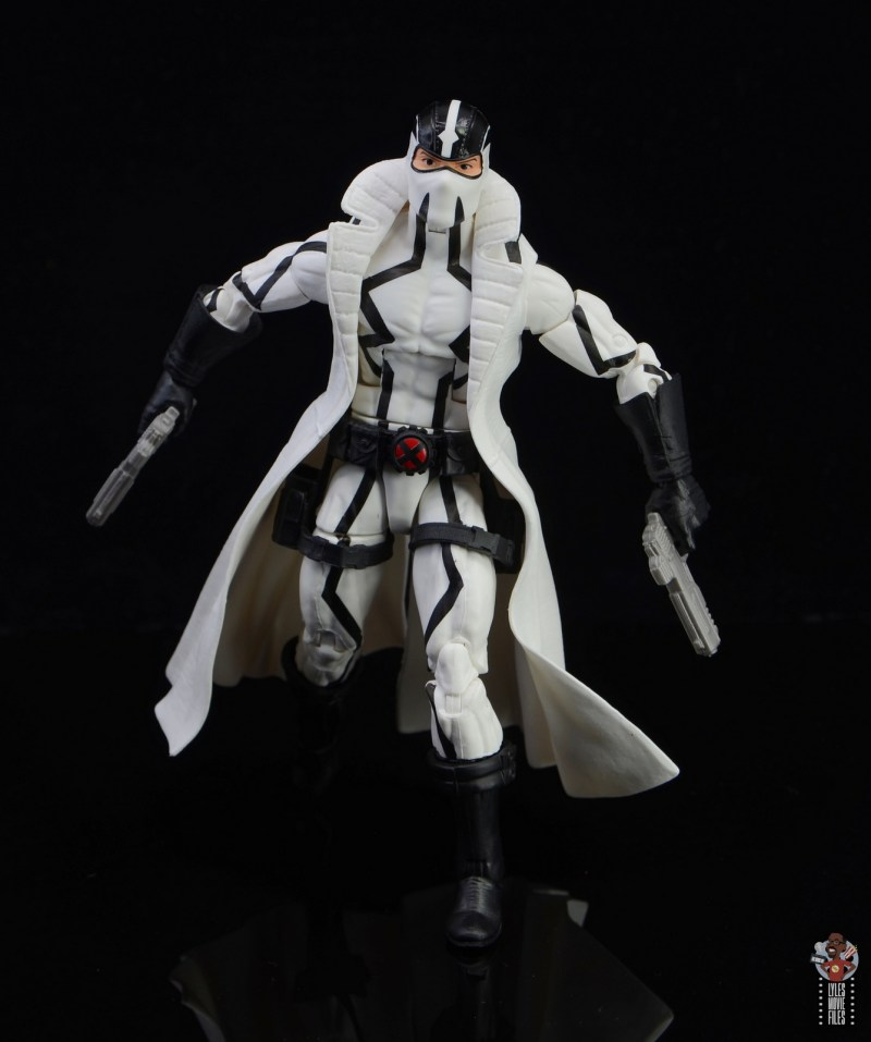 marvel legends nimrod, fantomex and psylocke figure review - fantomex on the move