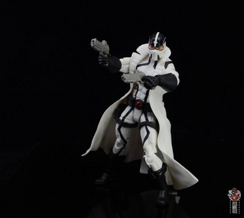 marvel legends nimrod, fantomex and psylocke figure review - fantomex posing