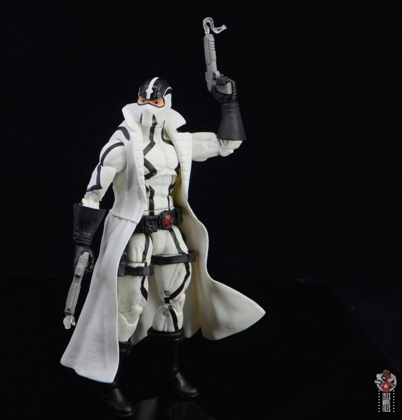 marvel legends nimrod, fantomex and psylocke figure review - fantomex with vaper trail