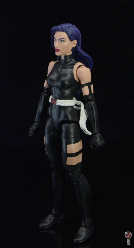 marvel legends nimrod, fantomex and psylocke figure review - psylocke left side
