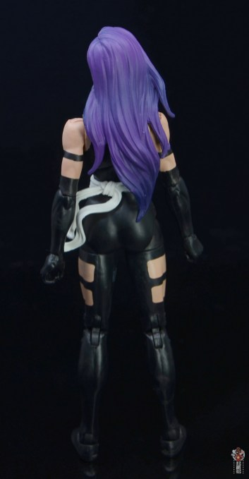 marvel legends nimrod, fantomex and psylocke figure review -psylocke rear