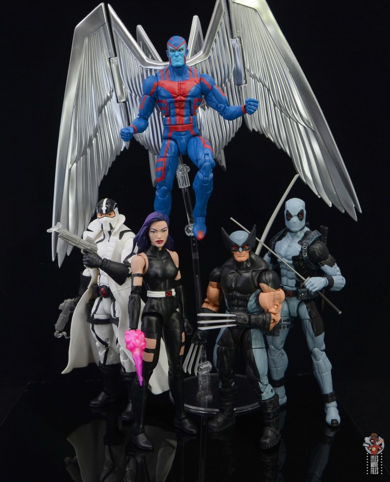 marvel legends nimrod, fantomex and psylocke figure review - uncanny x-force