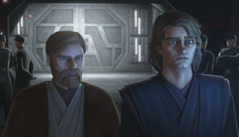 star wars clone wars season 7 - obi-wan and anakin