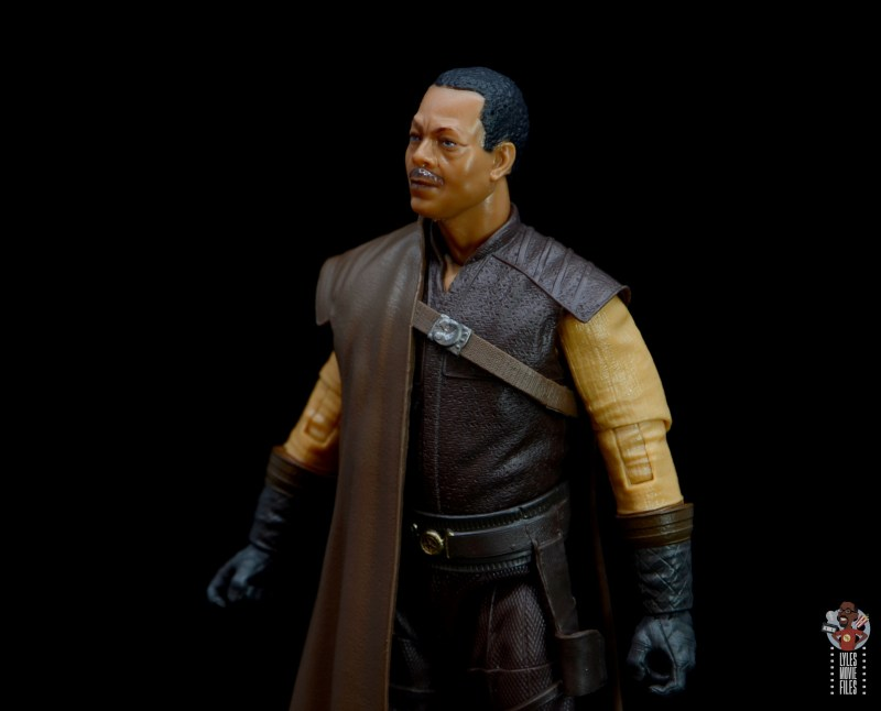 star wars the black series greef karga figure review -outfit detail