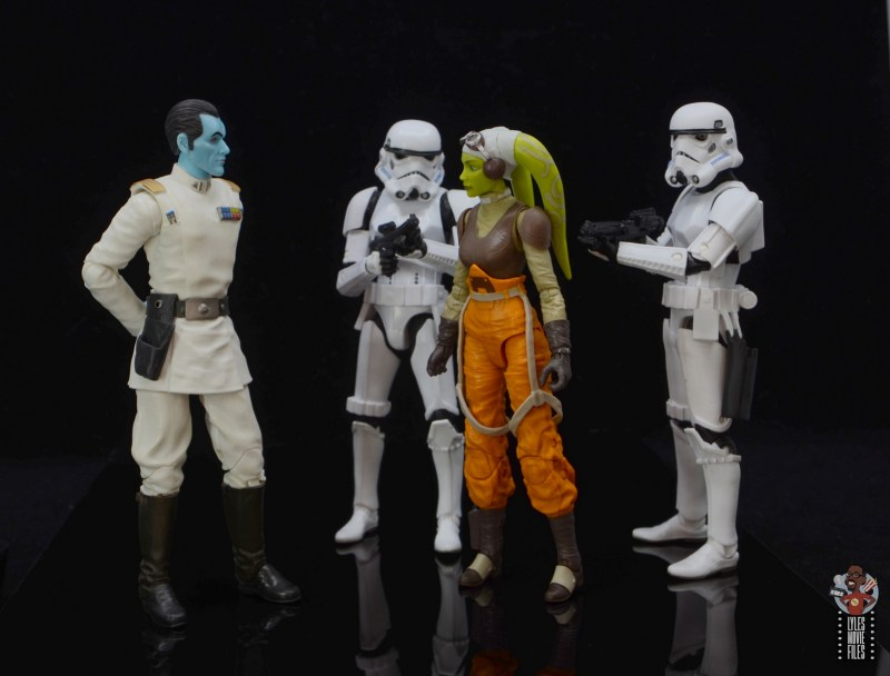 star wars the black series hera syndulla figure review - face off with grand admiral thrawn