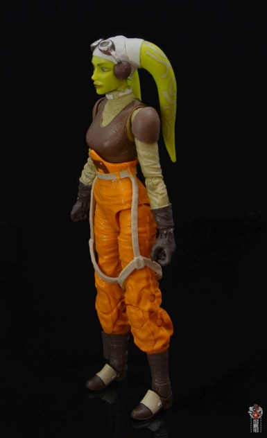 star wars the black series hera syndulla figure review - left side