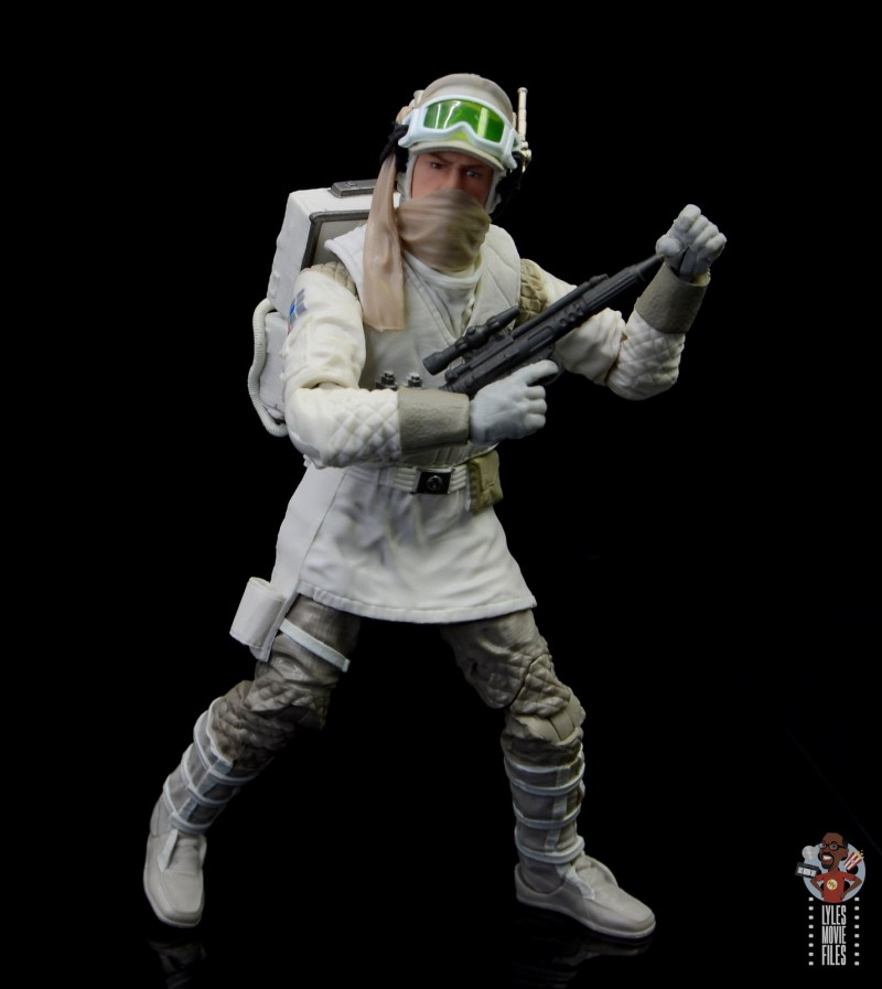 star wars the black series hoth trooper figure review - holding smaller blaster