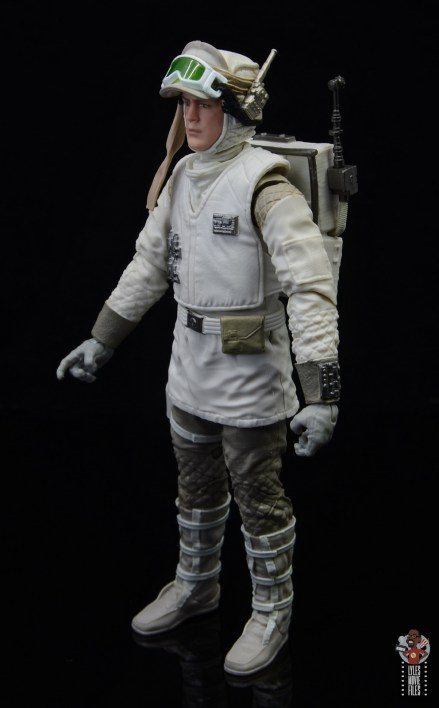 star wars the black series hoth trooper figure review - left side