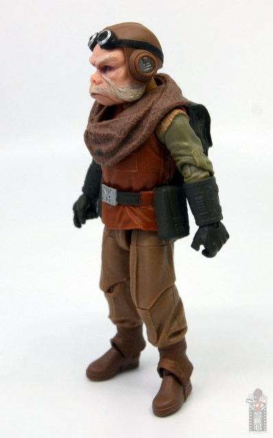 star wars the black series kuill figure review - left side