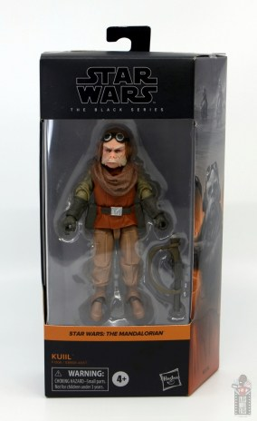 star wars the black series kuill figure review - package front
