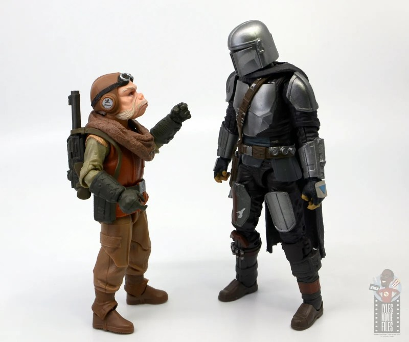 star wars the black series kuill figure review - talking to mando