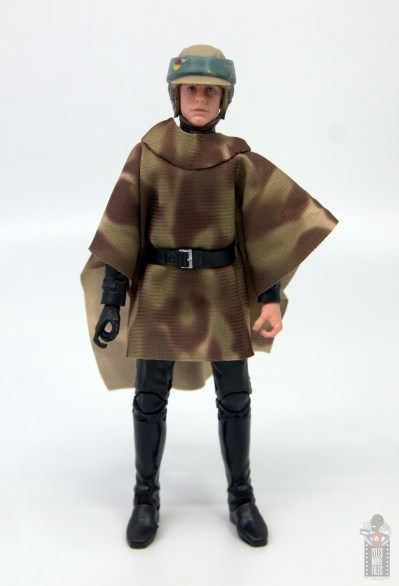 star wars the black series luke skywalker endor figure review - front