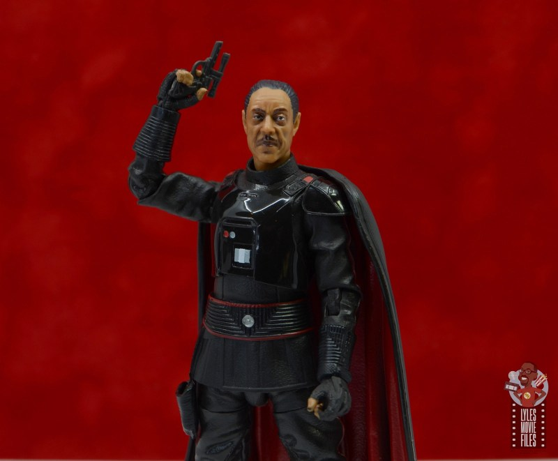 star wars the black series moff gideon figure review - raising blaster