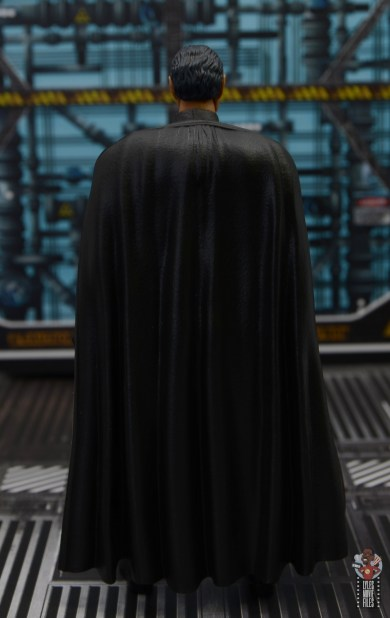 star wars the black series moff gideon figure review - rear with cape