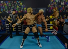 wwe elite series 81 stunning steve austin figure review -back elbow to ric flair