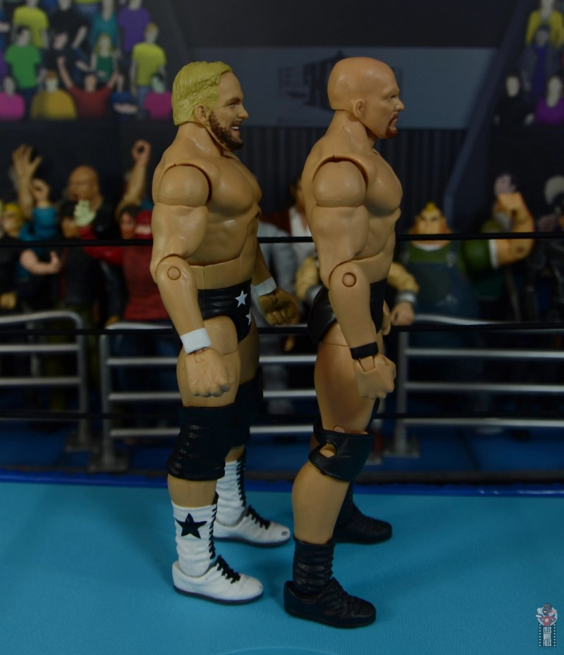 wwe elite series 81 stunning steve austin figure review - facing stone cold steve austin