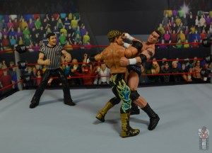 wwe legends series 8 eddie guerrero figure review - forearm smash to randy orton