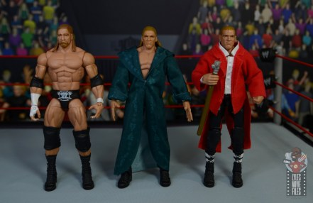 wwe triple h and chyna figure set review - evolution of triple h