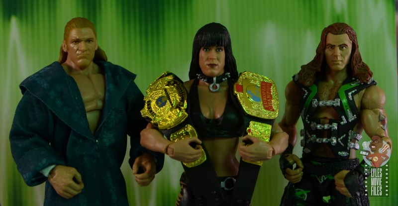 wwe triple h and chyna figure set review - original dx