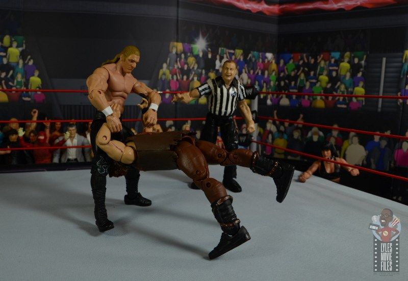 wwe triple h and chyna figure set review - pedigree mankind