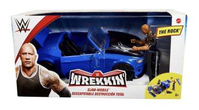 wwe wrekkin slam mobile with the rock package