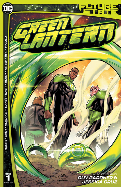 Future State Green Lanterns #1