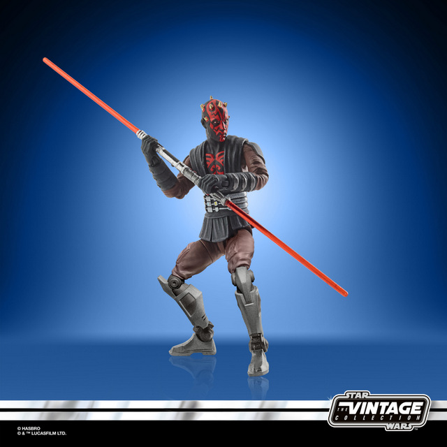 STAR WARS THE VINTAGE COLLECTION 3.75-INCH DARTH MAUL (MANDALORE) Figure - oop (4)