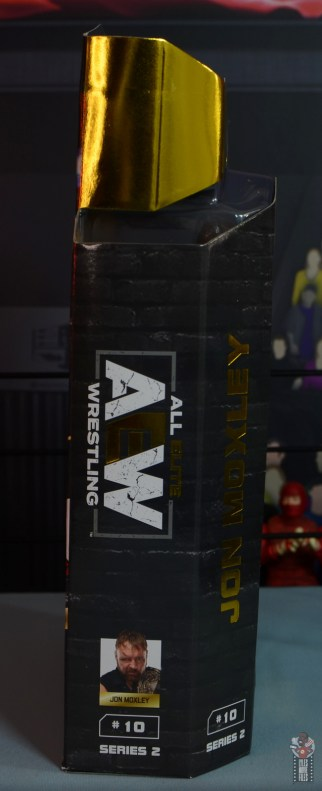 aew unrivaled jon moxley figure review - package right side