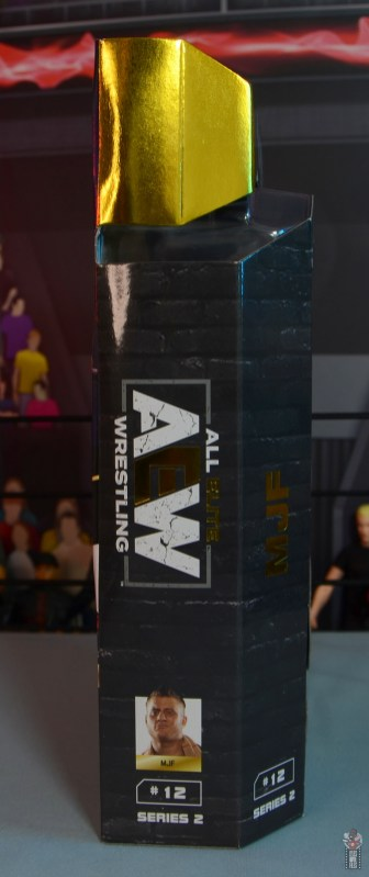 aew unrivaled mjf figure review -package right side