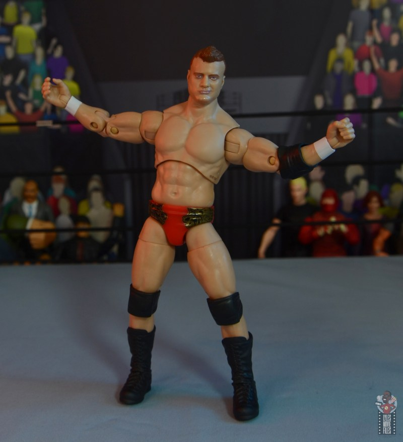 aew unrivaled mjf figure review -taunt pose