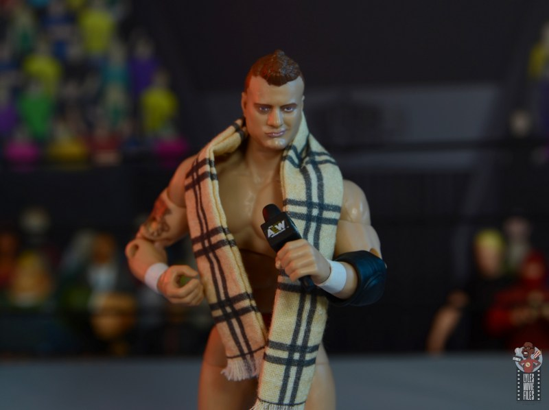 aew unrivaled mjf figure review - with all accessories