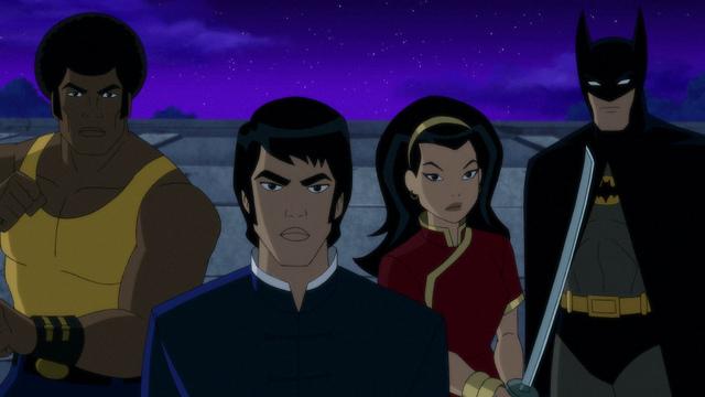 batman soul of the dragon review - bronze tiger, richard dragon, lady shiva and batman