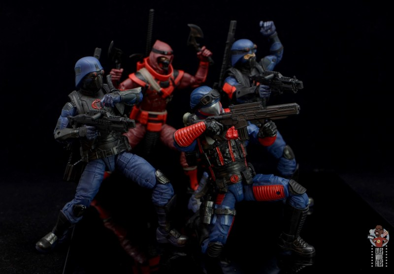 gi joe classified series cobra viper figure review - cobra troops in battle