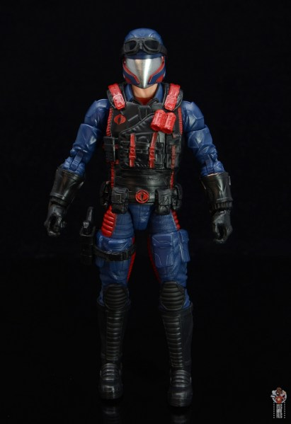gi joe classified series cobra viper figure review - front