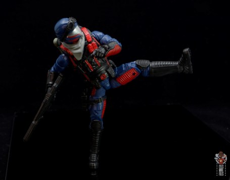 gi joe classified series cobra viper figure review - kicking