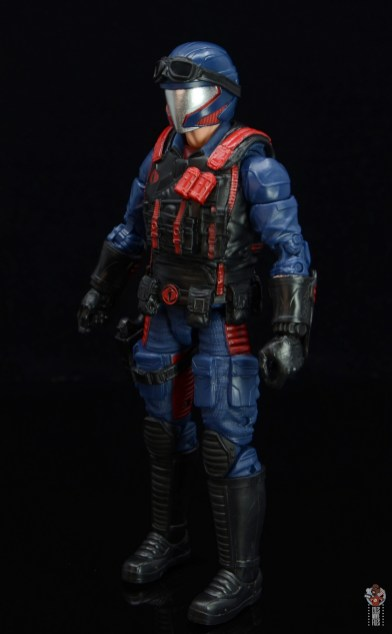 gi joe classified series cobra viper figure review - left side