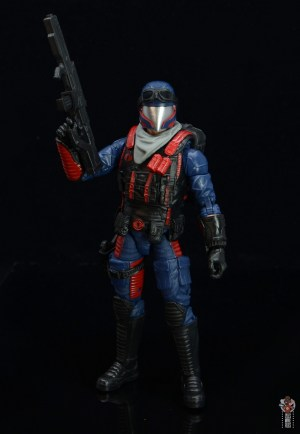 gi joe classified series cobra viper figure review -lifting blaster