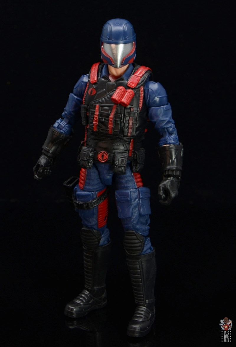 gi joe classified series cobra viper figure review - outfit details