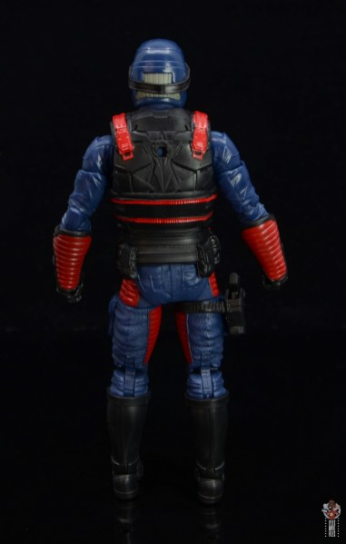 gi joe classified series cobra viper figure review - rear