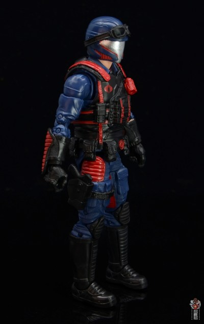 gi joe classified series cobra viper figure review - right side