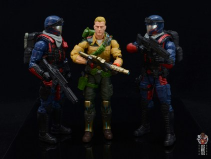 gi joe classified series cobra viper figure review - scale with duke