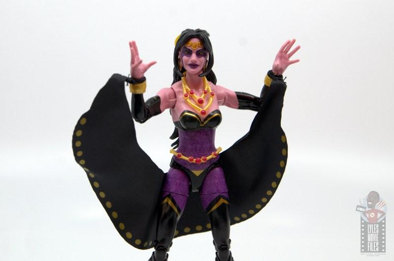 marvel legends shiklah figure review -hands up