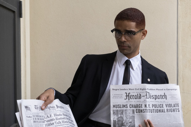 one night in miami review - kingsley ben-adir as malcolm x