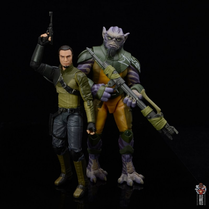 star wars the black series zeb orrelios figure review - hanging with kanan