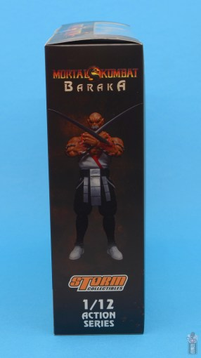 storm collectibles mortal kombat baraka figure review - package right side