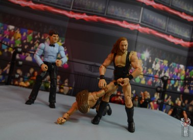 wwe elite 75 pete dunne figure review - arm bar on adam cole
