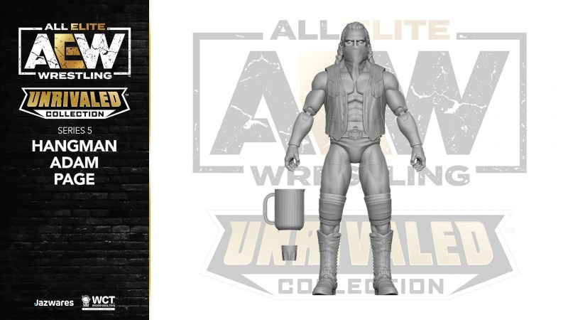 AEW unrivaled wave 5 Adam page