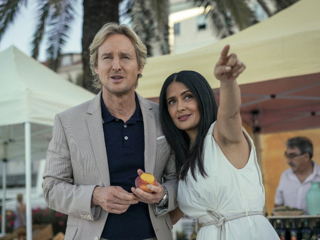 bliss movie review - owen wilson and salma hayek