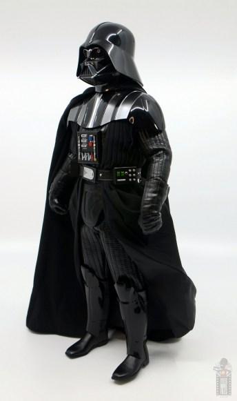 hot toys empire strikes back darth vader figure review - left side